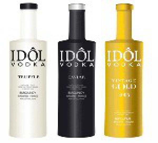 Lancement : Idôl Vodka version Gold