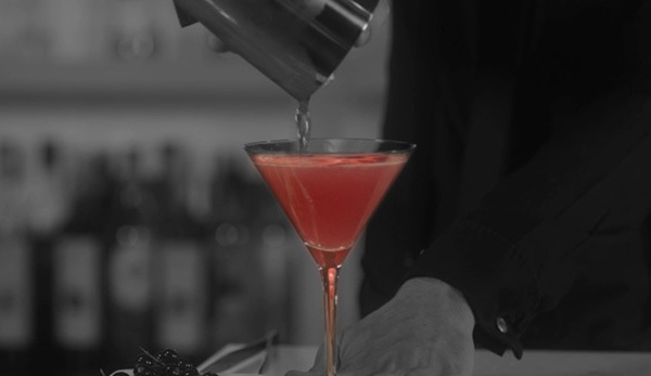 Cocktails Kosmopolitan & Ice Storm by Poliakov