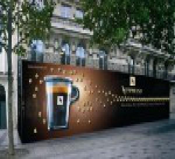 Le 18 décembre, Nespresso illuminera les Champs-Élysées en ouvrant sa plus grande boutique-bar au monde