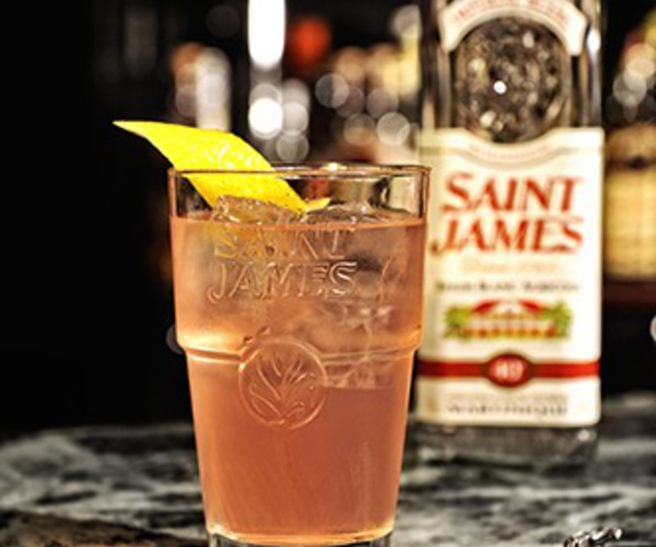 Recette cocktail Pro Saint James Perfect drink by Stephen Martin
