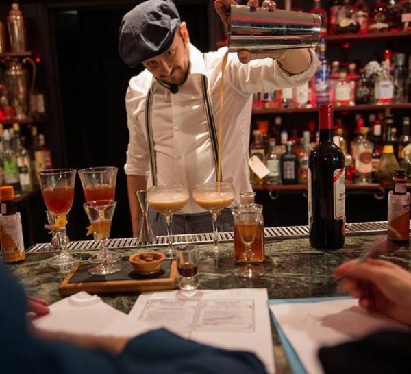 Bartenders at work by Infosbar : le CV express de Yannick Bucco