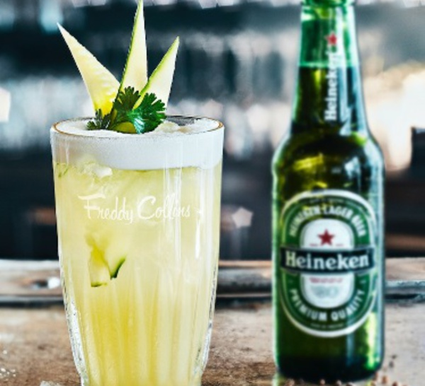 "Cocktail ""Freddy Collins"" by Heineken X Michael Mas"