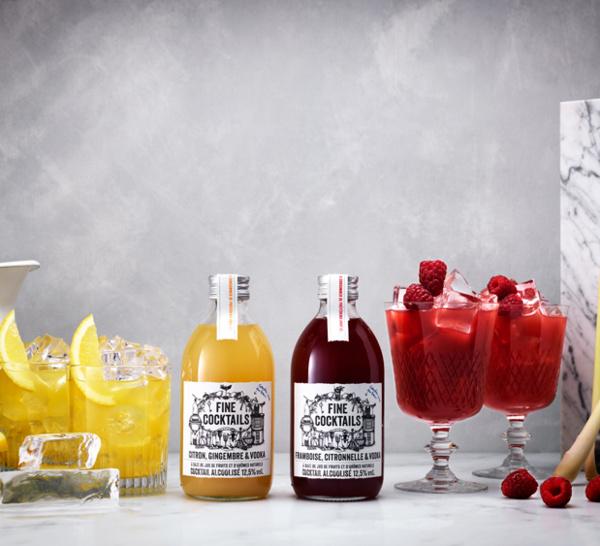 Fine Cocktails, le cocktail qui s'invite au rayon frais