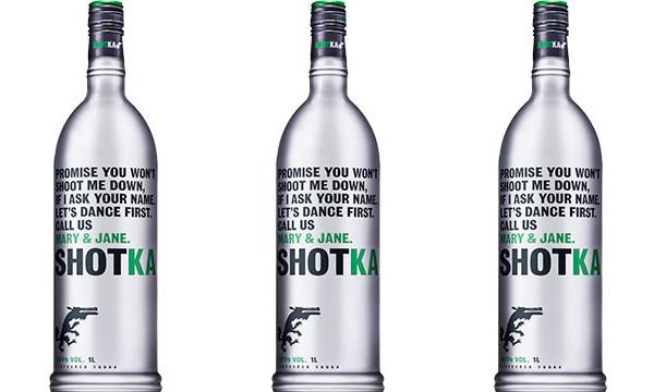 Shotka : une vodka au cannabis bientôt commercialisée en France