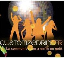 Customizedrink: la communication de votre marque sur une canette