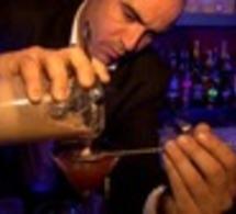 """Stanislas Jouenne et Romain Petit présentent le cocktail """"saveur d'automne"""" by Grey Goose"""