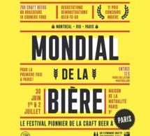 Le Mondial de la Bière arrive à Paris cet été