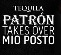 La Tequila PATRÓN squatte Mio Posto à Paris