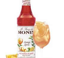 Nouveauté : Sirop d'Orange Spritz MONIN