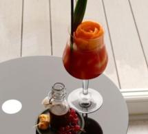 "Cocktail ""Brasen Diven"" pour Caraïbos"