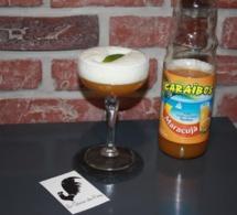 """Cocktail """"Mont Blanc Pie"""" pour Caraïbos"""