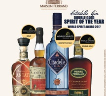 World Spirits Award 2017 : Maison Ferrand récompensée