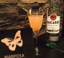 "Cocktail Signature : ""Le Mariposa"" by Matthieu Pluta"