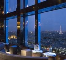 Bar panoramique de l'hôtel Concorde Lafayette - Paris à vos pieds
