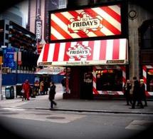 Les escapades de Johann Bouard : TGI Friday's - Londres