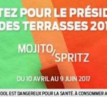 Election du Président des Terrasses 2017 by MONIN