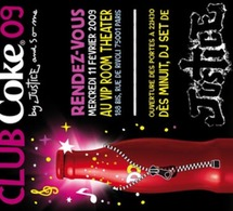 Nouvelle CLUB COKE by Justice le 11 février au VIP Room Theatre