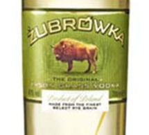 Nouvelle bouteille pour la vodka Zubrowka
