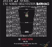 Soirée Festa Branca avec BARMAG jeudi 23 avril au Sanz Sans (Paris)