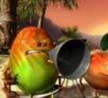 Les fruits se mettent à la chanson chez Oasis !