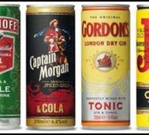 Une nouvelle gamme de Ready To Drink (RTD) pour Diageo