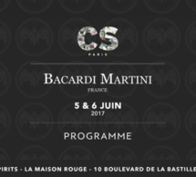 Cocktails Spirits Paris 2017 : le programme de Bacardi Martini France