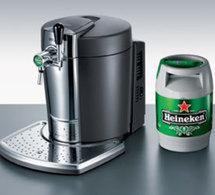 Approvisionement de tubes Beertender
