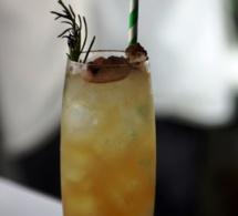Cocktail Signature « Rosa Fresca » by Brice Martaud