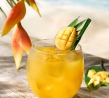 "Cocktail ""Batida de Manga"" by Aguacana"