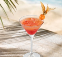 """Cocktail """"Brazilian Rose"""" by Aguacana"""