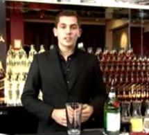 Emile Chaillot, bartender à Hong Kong