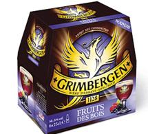 Grimbergen Fruits des Bois disponible à l'automne dans les bars et restaurants