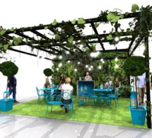 Bombay Sapphire investit 7 terrasses Françaises