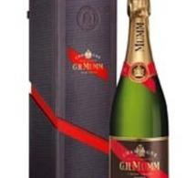 G.H.Mumm, coffret raffiné pour champagne de grande valeur
