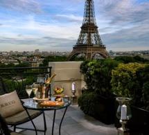 Prolongations pour le bar à ciel ouvert by Krug au Shangri-La Hotel Paris