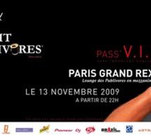 Infosbar et Sortiraparis organisent la mezzanine VIP de la Nuit des Publivores au Grand Rex