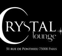 Le Crystal Lounge ouvrira ses portes le 5 décembre à Paris 8 ème