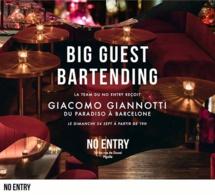 Guest Bartending : Giacomo Giannotti au No Entry