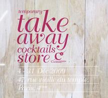 Cocktail Spirit lance le Take Away* (à emporter) Cocktail Store à Paris