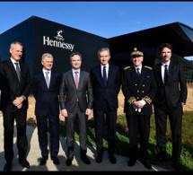 Hennessy inaugure son nouveau site de Pont Neuf
