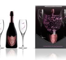 Dom Perignon rosé by Zoe Cassavetes