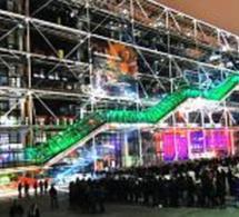 Soirée  Chromatic night J&B  au Centre Georges Pompidou.