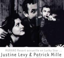 "Justine Levy & Patrick Mille invités de la ""Lucky star"" de MURANO Resort Paris"