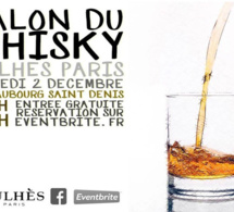 Salon du Whisky 2017 chez Julhès Paris