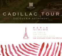 Le Cadillac Tour by Cadillac Côtes de Bordeaux débarque à Paris