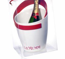 La Maison G.H. MUMM et le designer Patrick Jouin lancent une ligne de service à Champagne exclusive