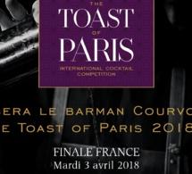 Toast of Paris 2018 by Courvoisier : Finale Française mardi 3 avril