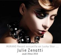 Lucky star : Murano Resort Paris reçoit Julie Zenatti