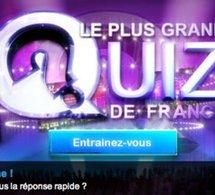Le plus grand quizz de France sur TF1 recherche...