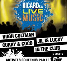 Ricard S.A Live Music, s'installe place Denfert Rochereau pour la fête de la musique !